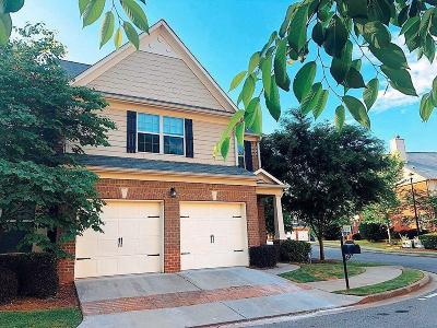 Johns Creek Condo/Townhouse For Sale: 4836 Birchfield Way