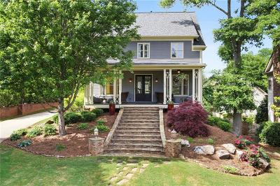 Roswell Single Family Home For Sale: 1232 Minhinette Drive