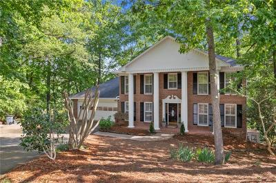 Roswell Single Family Home For Sale: 400 Fallen Leaf Lane