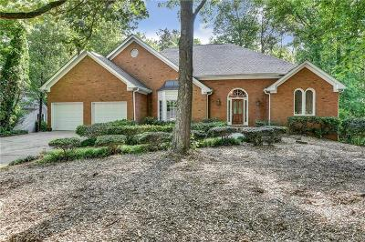 Roswell Single Family Home For Sale: 11585 Wildwood Springs Drive