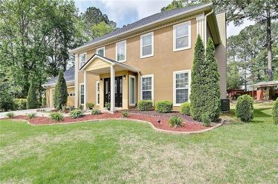 Acworth Single Family Home For Sale: 2115 November Court NW