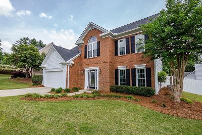 Alpharetta Single Family Home For Sale: 11395 Brookhollow Trail