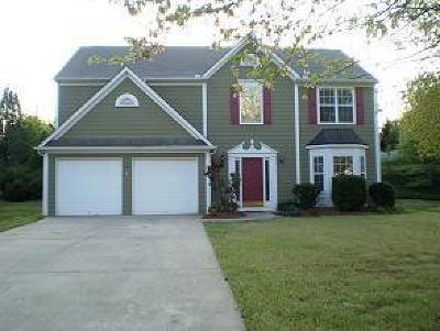 Alpharetta Single Family Home For Sale: 1358 Dalesford Drive