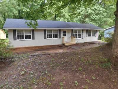Acworth Single Family Home For Sale: 5577 Oak Grove Drive