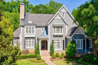 Johns Creek Single Family Home For Sale: 1808 Ballybunion Drive