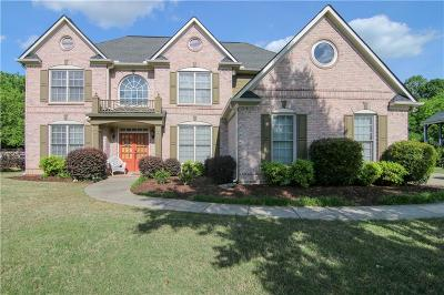 Woodstock Single Family Home For Sale: 4007 Hickory Fairway Drive