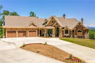 Ball Ground GA Single Family Home For Sale: $1,900,000