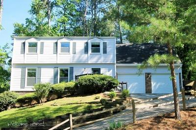 Roswell Single Family Home For Sale: 9655 Hillside Drive