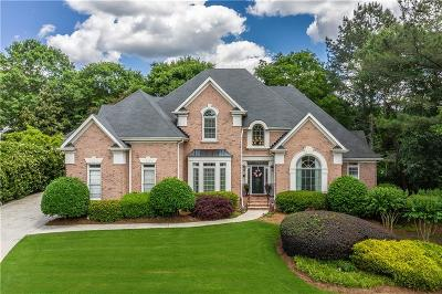 Peachtree Corners, Norcross Single Family Home For Sale: 4115 Wellington Lake Court