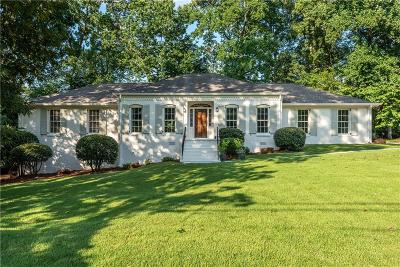 Brookhaven Single Family Home For Sale: 3138 Frontenac Court NE