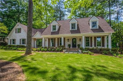 Sandy Springs Single Family Home For Sale: 300 Hunters Trace Circle