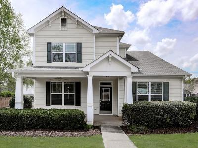 Holly Springs Single Family Home For Sale: 312 Harmony Lake Drive