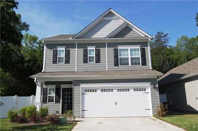 Cartersville Single Family Home For Sale: 23 Jackson Row