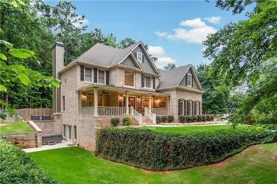 Kennesaw Single Family Home For Sale: 1855 Pine Mountain Road NW