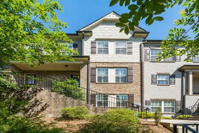 Brookhaven Condo/Townhouse For Sale: 2142 Havenwood Trail NE