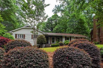 Smyrna Single Family Home For Sale: 2871 Stonecreek Road SE