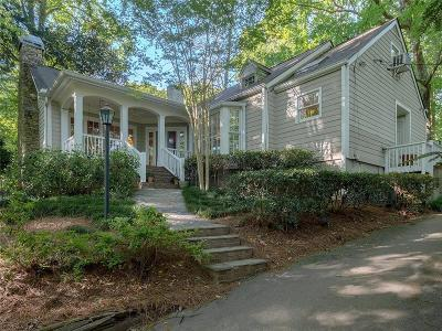 Atlanta Single Family Home For Sale: 3776 Powers Ferry Road NW