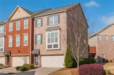 Norcross Condo/Townhouse For Sale: 3222 Greenwood Oak Drive #71