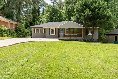 Decatur Single Family Home For Sale: 1867 Camellia Drive