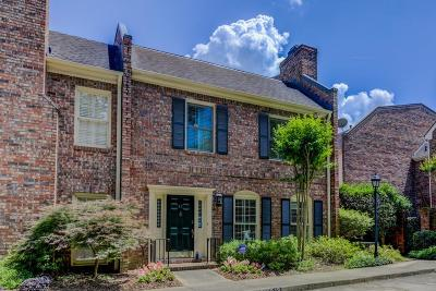 Druid Hills Condo/Townhouse For Sale: 45 Lullwater Place NE #45