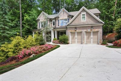 Brookhaven Single Family Home For Sale: 2985 Skyland Drive NE