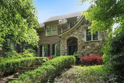 Atlanta Single Family Home For Sale: 2480 Ridgewood Road NW