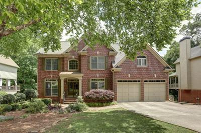 Johns Creek Single Family Home For Sale: 760 Cambridge Crest Lane
