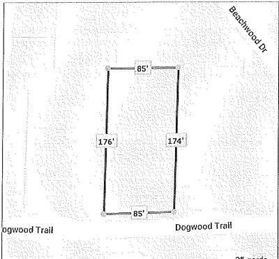 Residential Lots & Land For Sale: 7412 Dogwood Trail