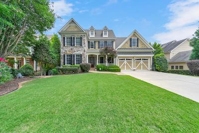 Kennesaw Single Family Home For Sale: 1436 Falkirk Lane NW