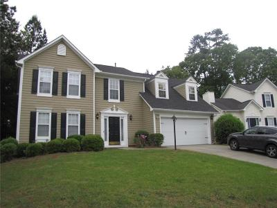 Suwanee Single Family Home For Sale: 2920 White Blossom Lane