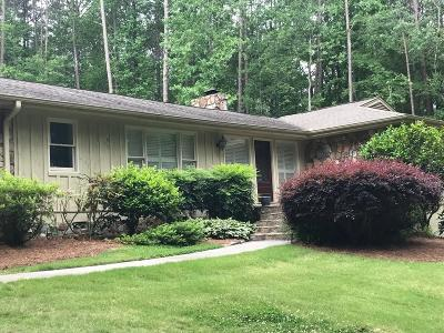 Acworth Single Family Home For Sale: 5963 Fords Road