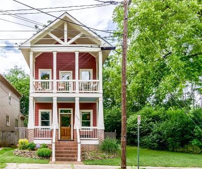 Old Fourth Ward Single Family Home For Sale: 236 Lampkin Street NE