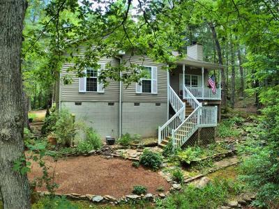 Blue Ridge Single Family Home For Sale: 638 Bear Paw Trail