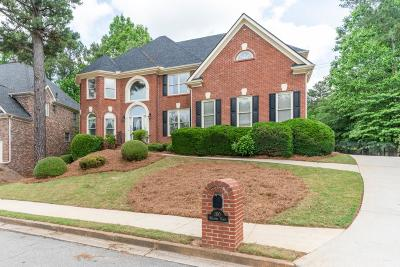 Alpharetta Single Family Home For Sale: 160 Welford Trace