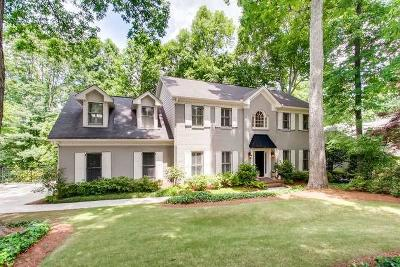Sandy Springs Single Family Home For Sale: 230 Inland Ridge Way