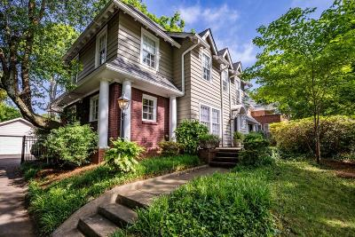 Druid Hills Single Family Home For Sale: 1028 Oxford Road NE