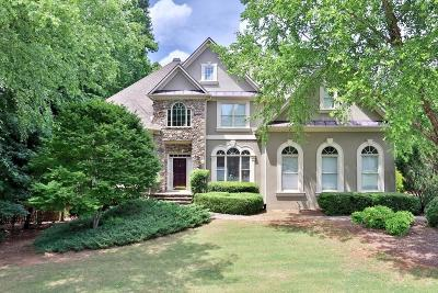 Alpharetta Single Family Home For Sale: 5710 Seven Oaks Parkway