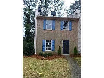 Marietta Condo/Townhouse For Sale: 2777 Northwood Court SW
