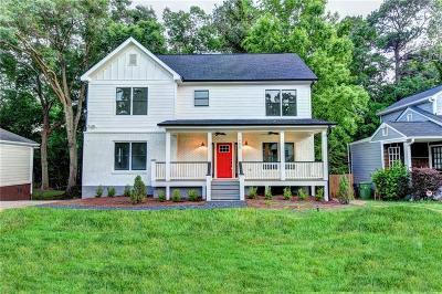 East Atlanta Single Family Home For Sale: 1685 Van Vleck Avenue