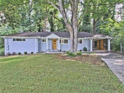 Atlanta Single Family Home For Sale: 1302 Poplarcrest Circle SE