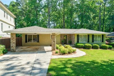Brookhaven Single Family Home For Sale: 2663 Winding Lane NE