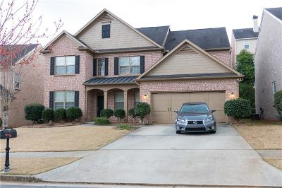 Suwanee Single Family Home For Sale: 1592 Belmont Creek Pointe