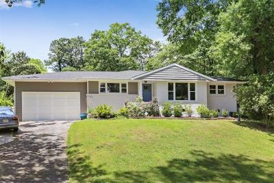 Buckhead Single Family Home For Sale: 3306 Pine Meadow Road NW