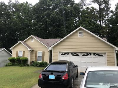 Lawrenceville Single Family Home For Sale: 540 Saddle Shoals Drive