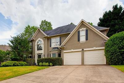 Woodstock Single Family Home For Sale: 321 Ironhill Trace