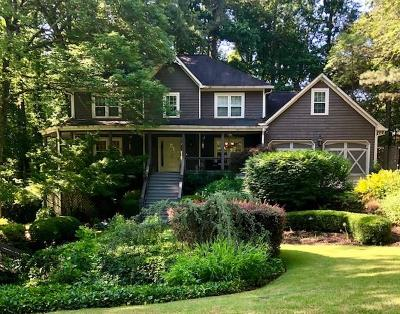 Single Family Home For Sale: 1067 Chestnut Hill Cir SW