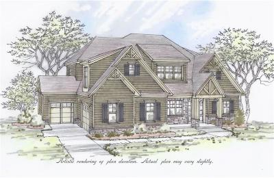 Powder Springs Single Family Home For Sale: Lot 20 Alec Crest NW