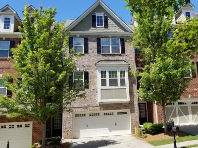 Norcross Condo/Townhouse For Sale: 5861 Norfolk Chase Road