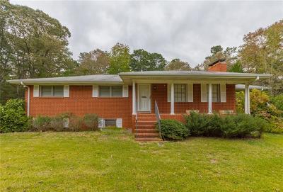Douglasville Single Family Home For Sale: 4947 Stewart Mill Road