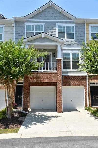 Alpharetta Condo/Townhouse For Sale: 14101 Voyage Trail